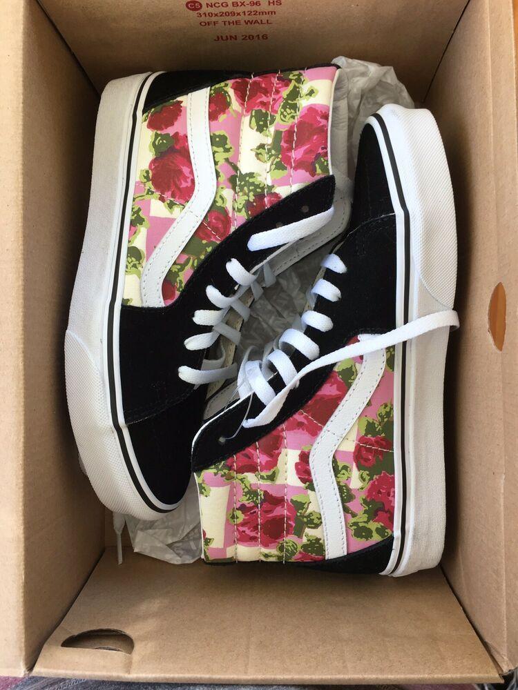 Vans Sk8 Hi Romantic Floral #fashion #clothing #shoes