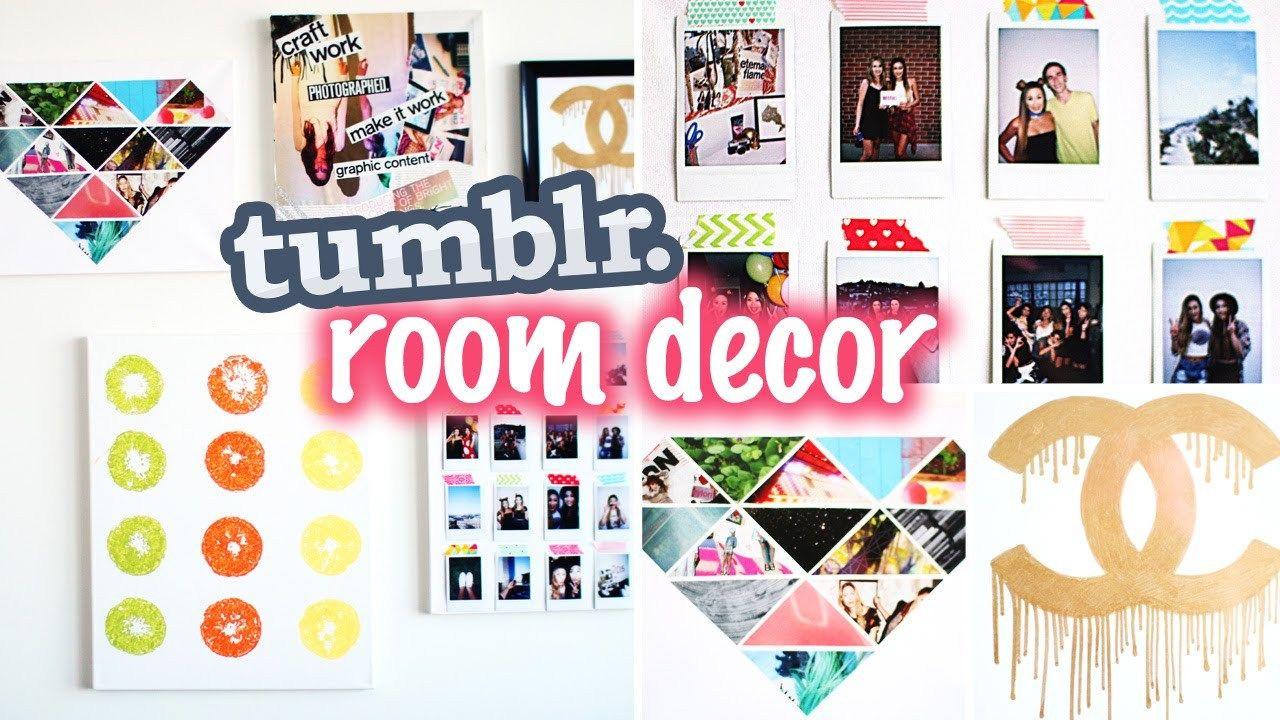Diy Tumblr Pinterest Inspired Room Decor Tumblr Room Decor Diy Tumblr Easy Room Decor