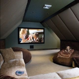 Best 25 Attic Movie Rooms Ideas On Pinterest Dream