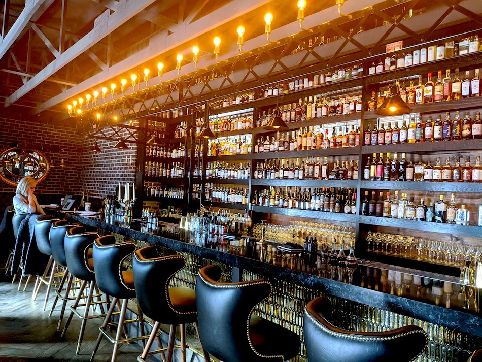 Sockdollager Bar Restaurant Photos Outdoor Patio Space Chicago Restaurants