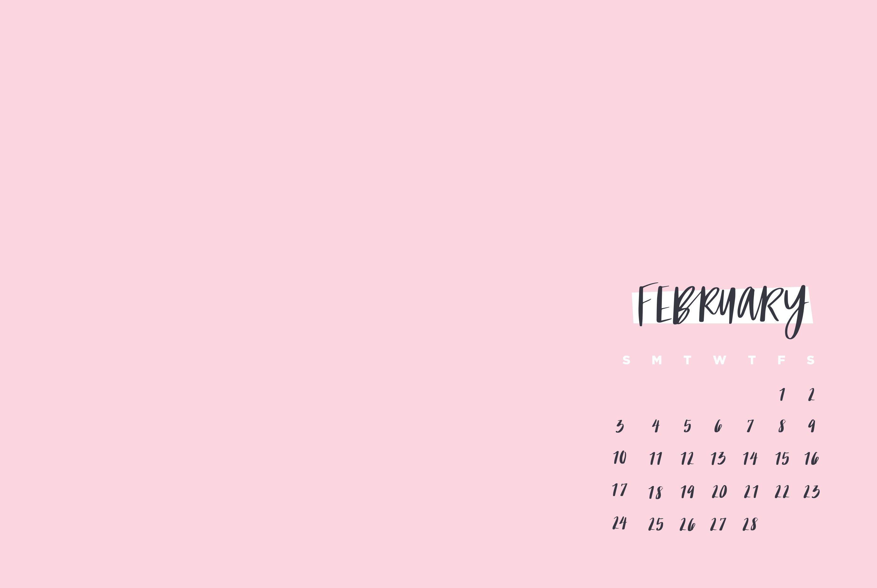 February 2019 Calendar Wallpaper Calendar Wallpaper Desktop Wallpaper Calendar February Wallpaper