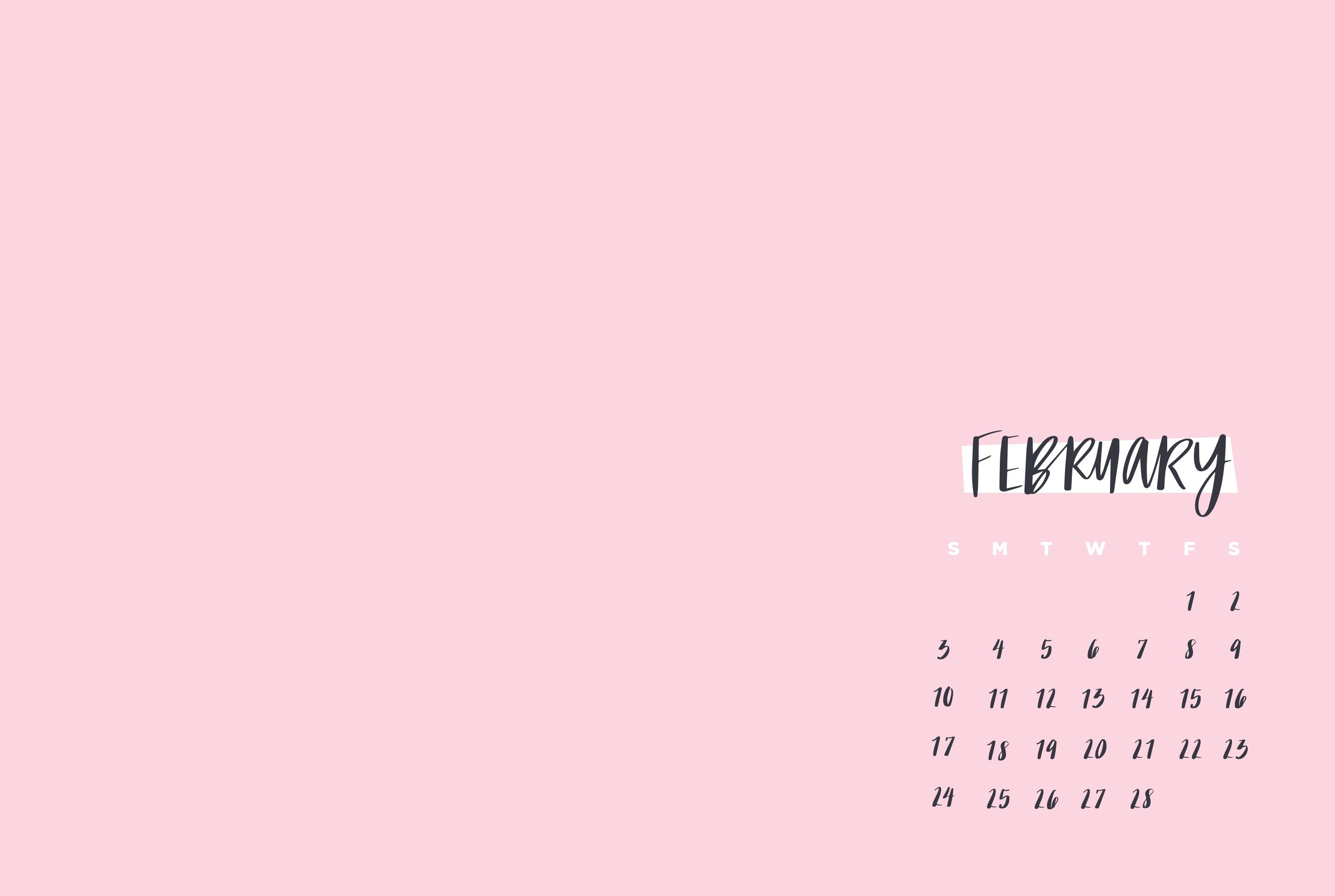February Wallpaper Calendar 2019 February 2019 Calendar Wallpaper | MaxCalendars in 2019 | Calendar