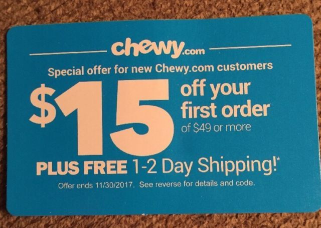 Chewy com coupon codes