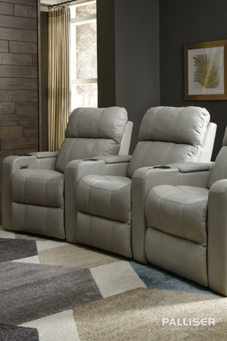 Embellish your plush soundtrack home theatre seating with