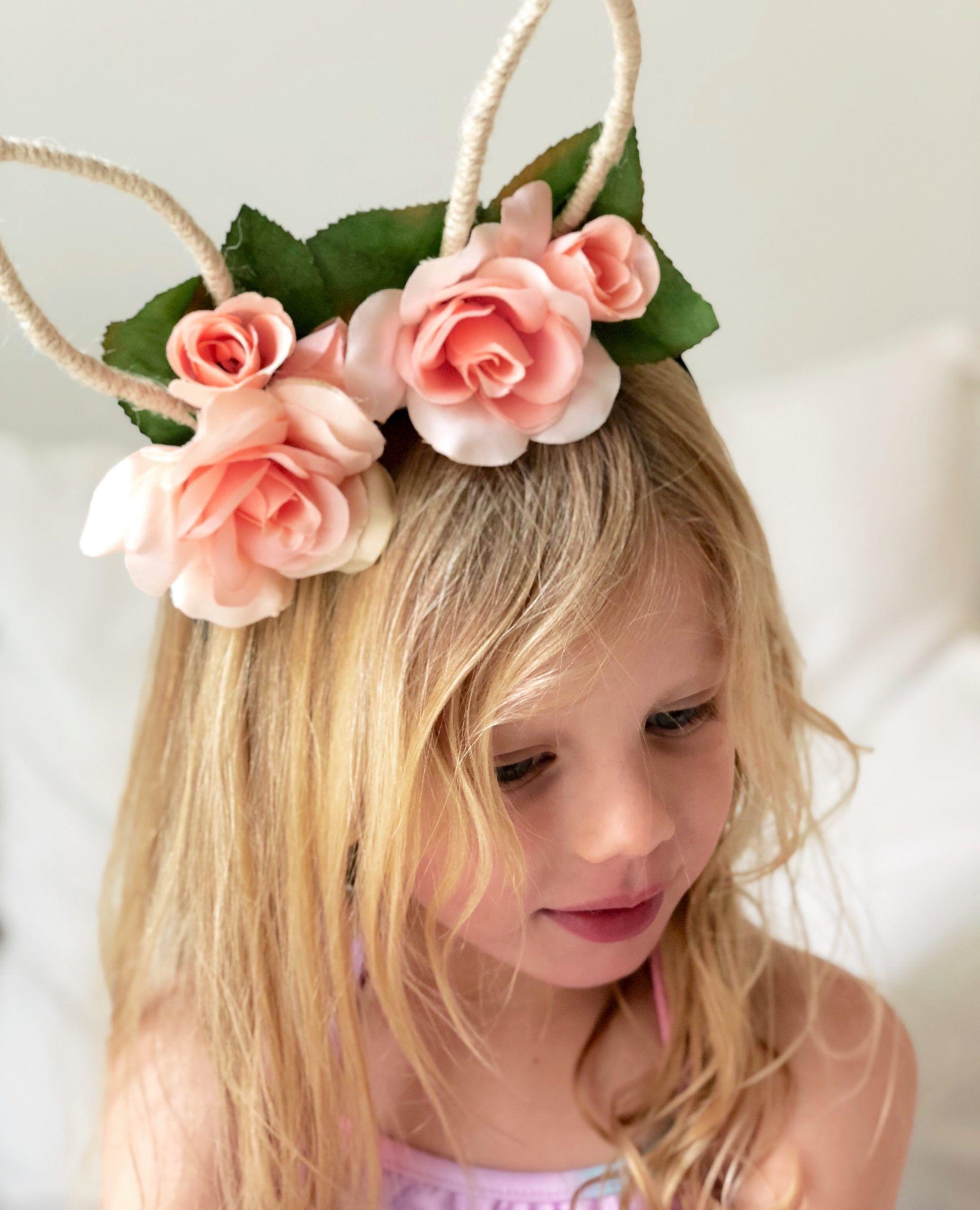 Pinterest Worthy Diy Easter Headband Women Of Today In 2021 Easter Headbands Easter Hat Parade Easter Hair