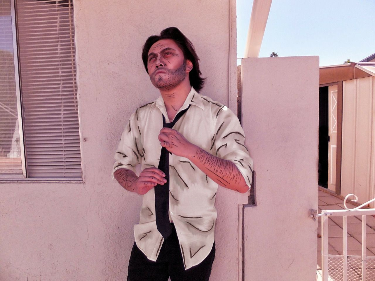 Bigby Wolf cosplay fromThe Wolf Among Usand Fables SOURCE