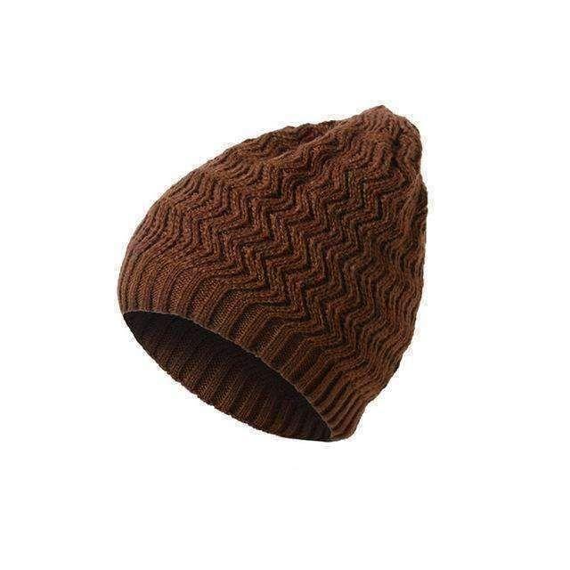 wave knit Men 2017 Winter Hat