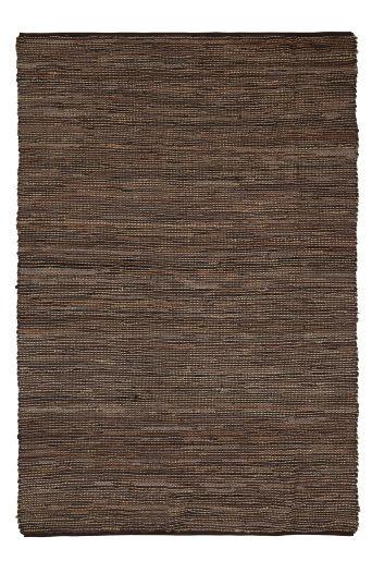 GALLARATE-nahka-/juuttimatto 130x190 cm