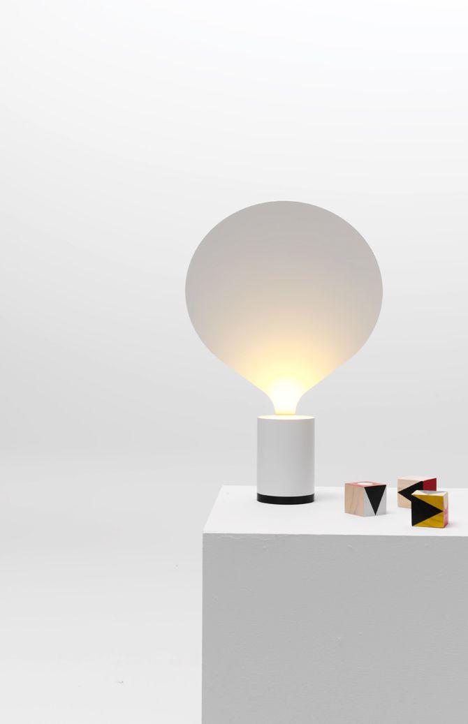 Uli Budde Balloon Led Table Lamp For Slovenian Lighting Brand Vertigo Bird 2011 Also Works As A Wall L With Images Arch Light Lighting Concepts Interior Light Fixtures