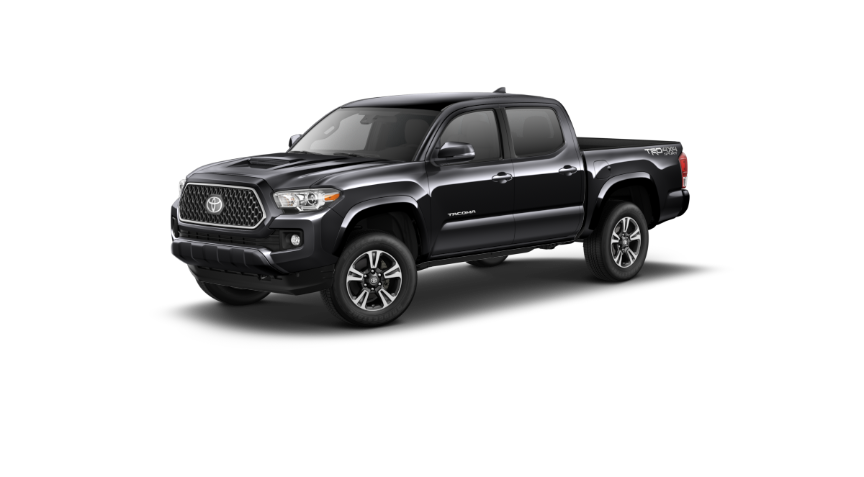 Your 2019 Tacoma Trd Sport Midnight Black Metallic Exterior Manual Black Out Options Toyota Cars Toyota Blue Toyota Tacoma