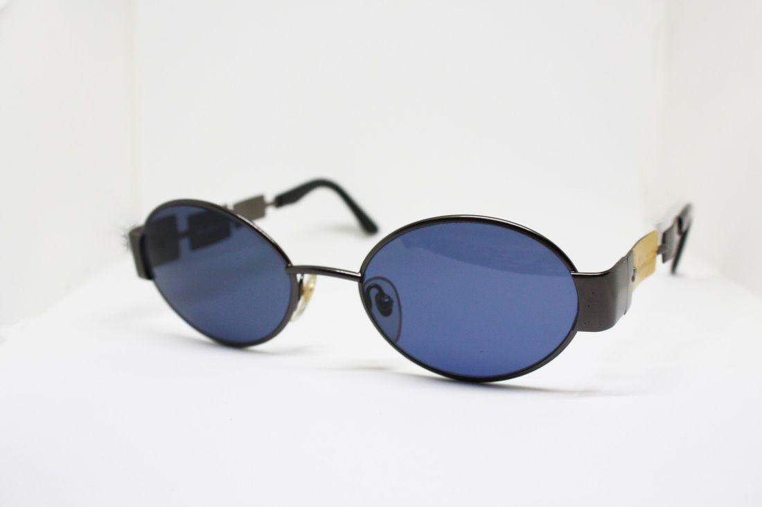 f6cd0bf478f Vintage Blue Mirrored Sunglasses