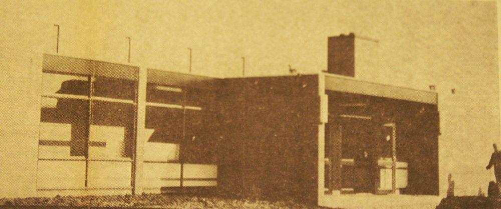 Instructiebad, uit de Zuid Friesland 1974