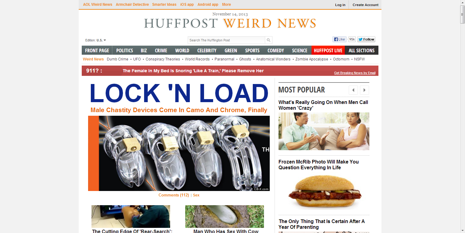 Huffington Post Weird News 7