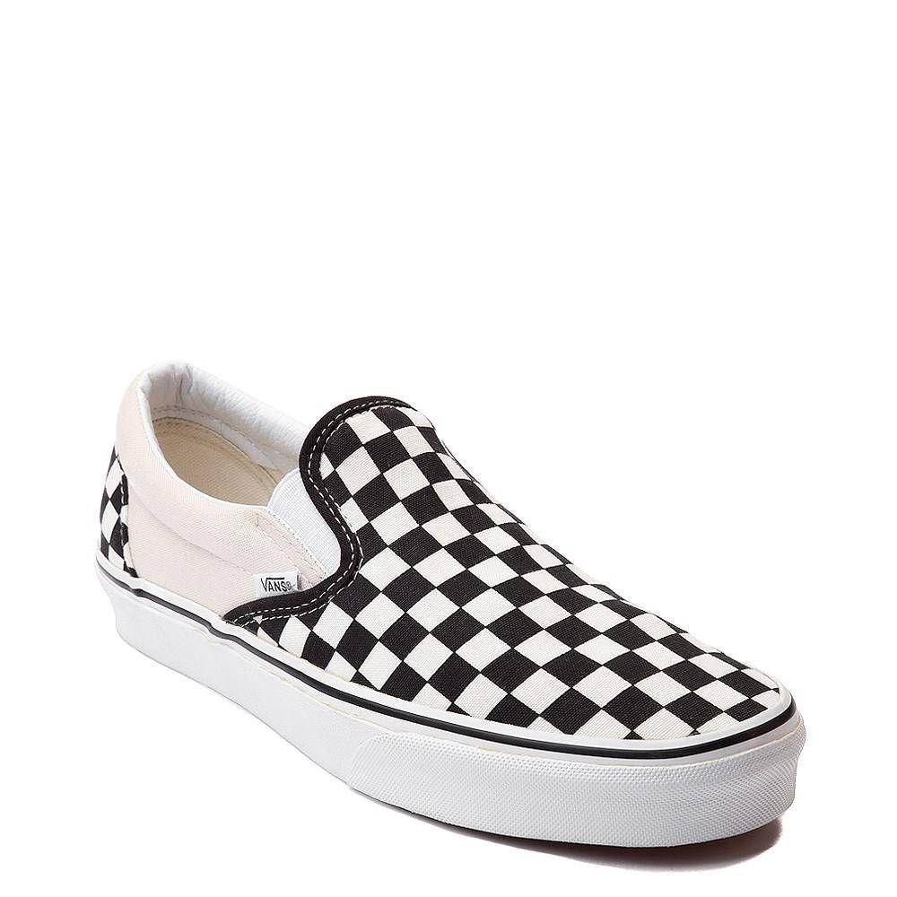 Vans Slip On Chex Skate Shoe | Journeys