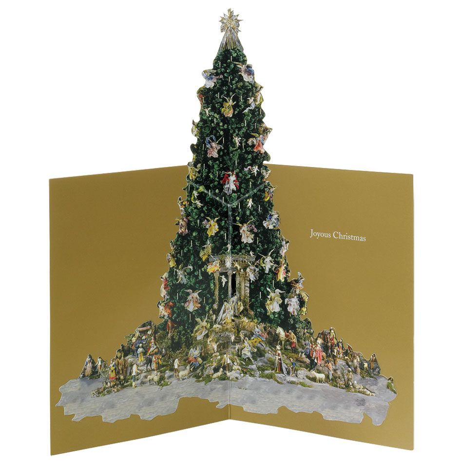 Popup christmas tree holiday cards christmas tree holidays and cards