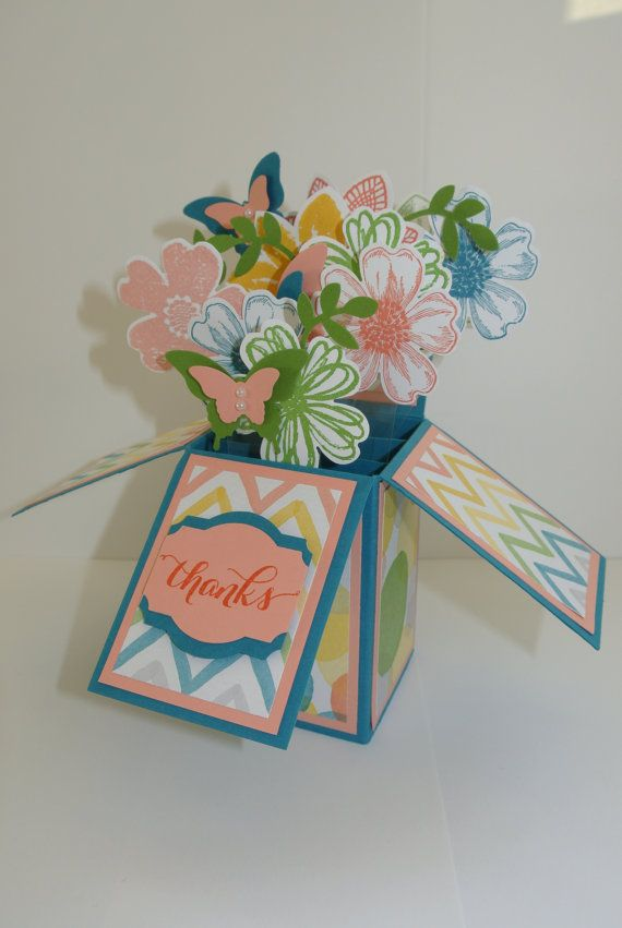 what a great way to say thanks beautiful paper flowers in