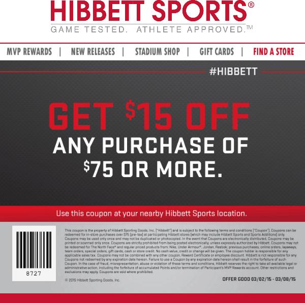 hibbett sports coupons january 2019