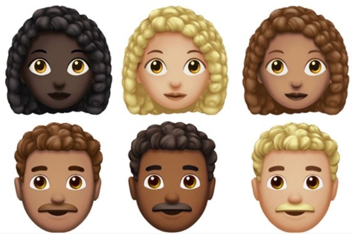 Representation Matters Apple Is Finally Releasing Emojis Curly Hair Emojis Apple Emoji Finally In 2020 Curly Hair Styles Naturally Curly Hair Styles White Girls