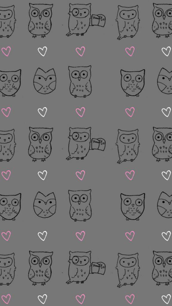 Owl Pattern Wallpapers Iphone 6 Plus Fondo De Pantalla De Buho Fondos De Pantalla Bonitos Fondo De Pantalla Para Telefonos