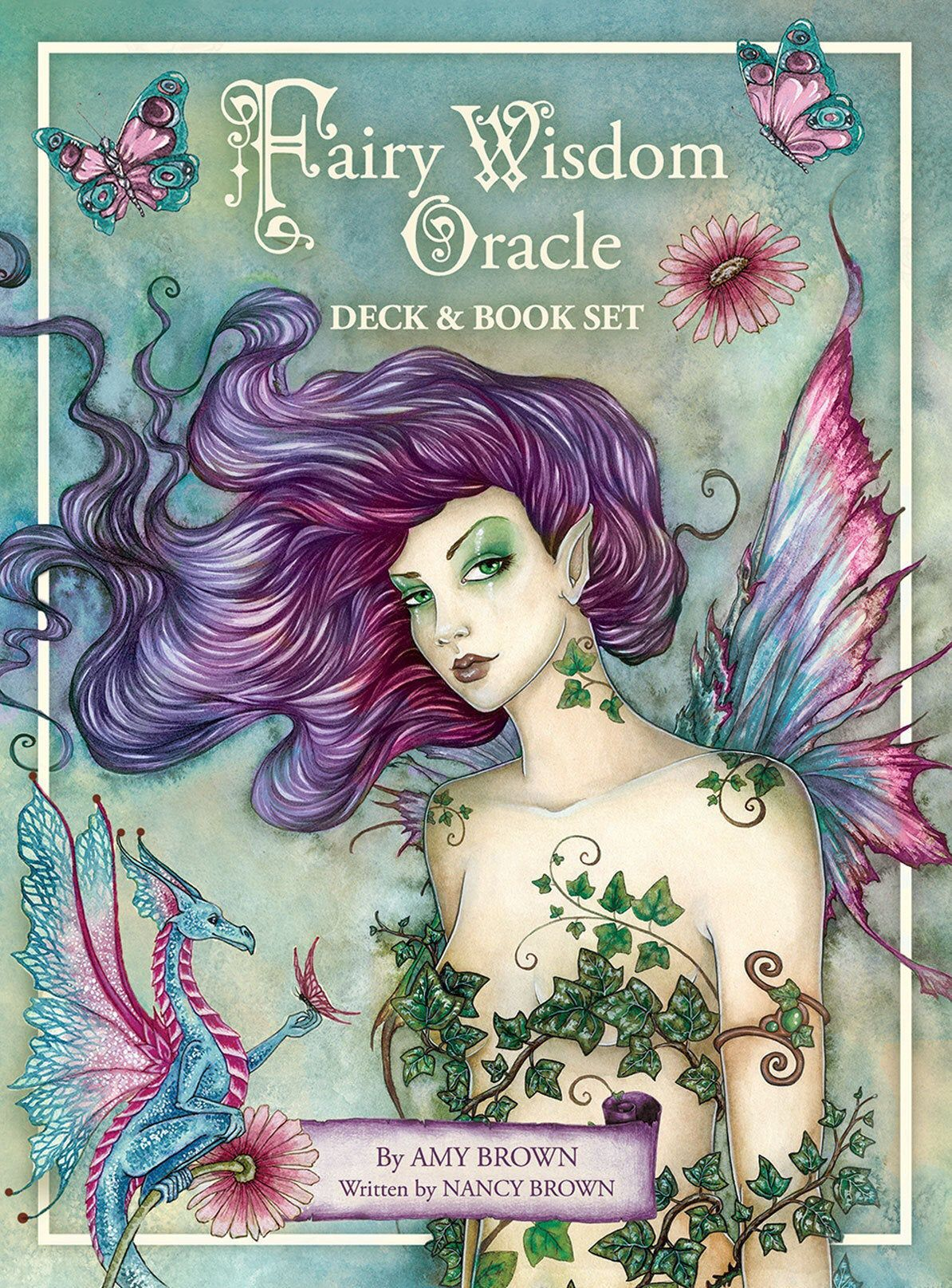 Fairy wisdom oracle cards and guidebook set amy brown