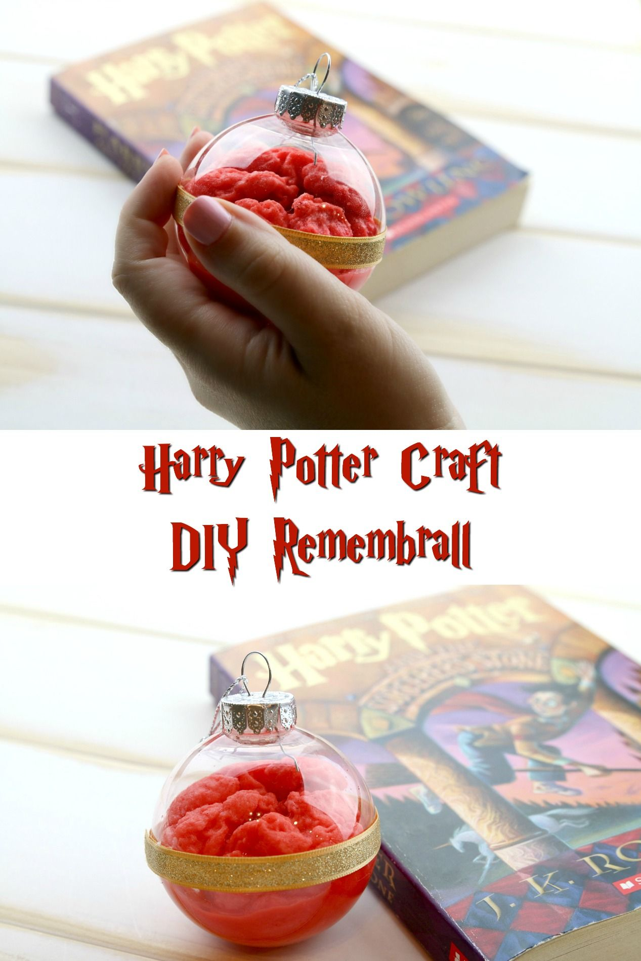DIY Remembrall Harry Potter Craft Harry potter