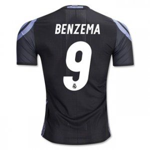 ef6a2dc2e 16-17 Real Madrid Football Shirt Third BENZEMA Cheap Jersey  G00883 ...