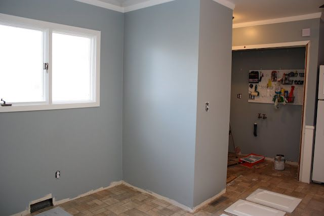 Considering This Paint Color Flint Smoke By Behr For The