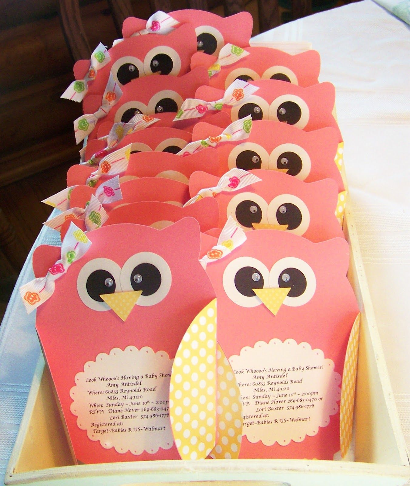 Little Owl Invites | Cricut, Babies and Babyshower