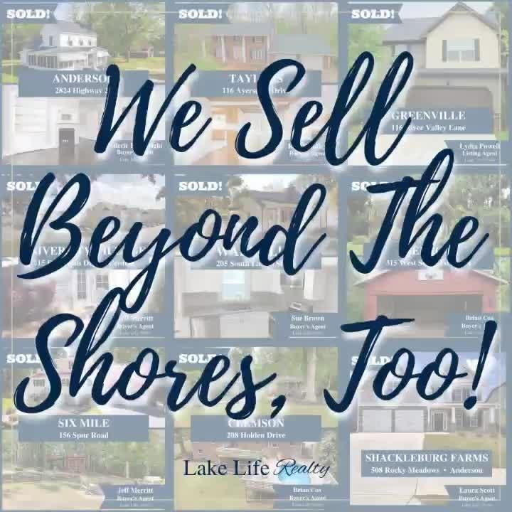 We Sell More Than Just The Lakes! 🏡 The Lake Life Realty Crew may enjoy living the Lake Life, but we know about life beyond the shores, too. If you're thinking about buying or selling, we'd love to help! Give us a call at 864-653-5253 or visit LakeLifeRealtySC.com to get started. #LakeLifeRealty #RealEstate #Realtor #RealtorLife #UpstateSC #SCRealEstate #SouthCarolina #LakeLife #LoveWhereYouLive
