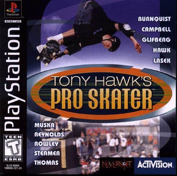 Tony Hawk S Pro Skateboarding U Iso For Psx Tony Hawk Pro Skater Tony Hawk Pro Skaters