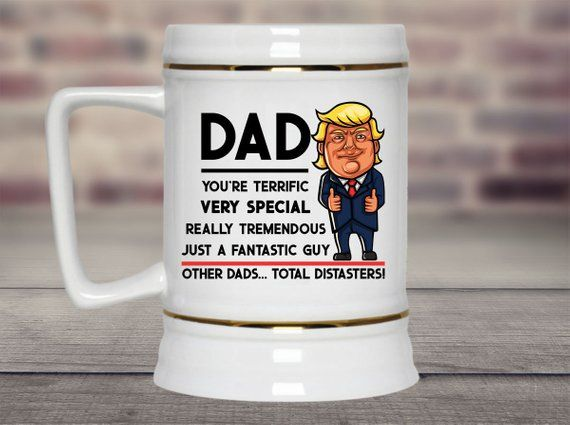Trump Beer Mug Gift Fathers Day Gifts For Men Gifts For