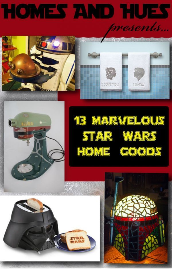 13 More Marvelous Star Wars Home Goods Star Wars Kitchen Geek