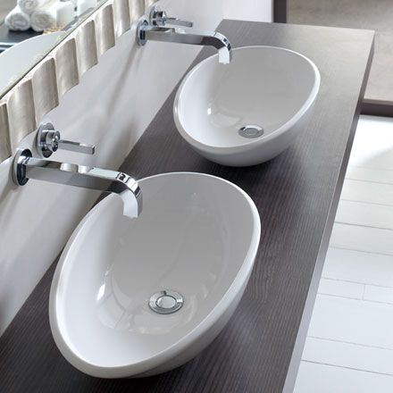 victoria albert napoli 57 aufsatzwaschtisch b 57 t 34 5 cm vb nap 57 reuter badshop. Black Bedroom Furniture Sets. Home Design Ideas