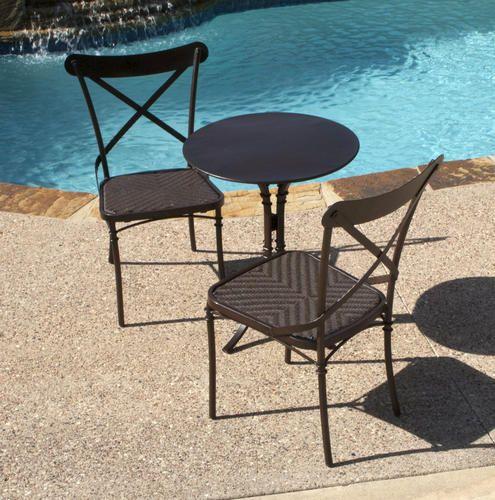 3 Piece Terrace Bistro Set Bistro Set Outdoor Furniture Sets Sterling Homes