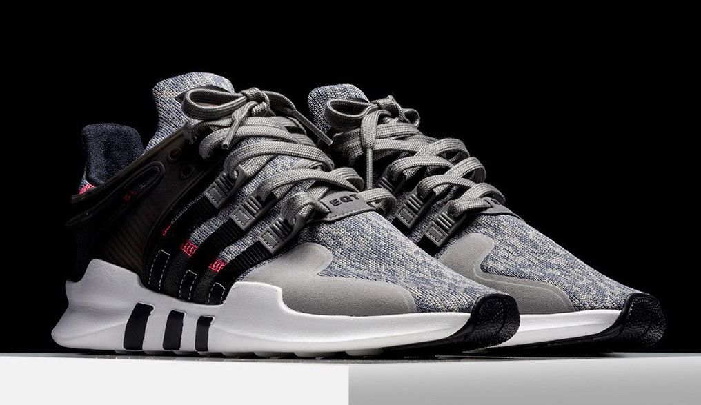 adidas Originals releases the adidas EQT Support ADV Pixel Grey that  features a Grey mesh upper with pixel printed detailing, Black cage and  White midsole.