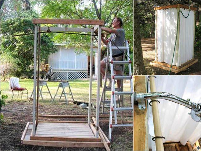 Diy Outdoor Shower Ideas Part - 16: 16 DIY Outdoor Shower Ideas