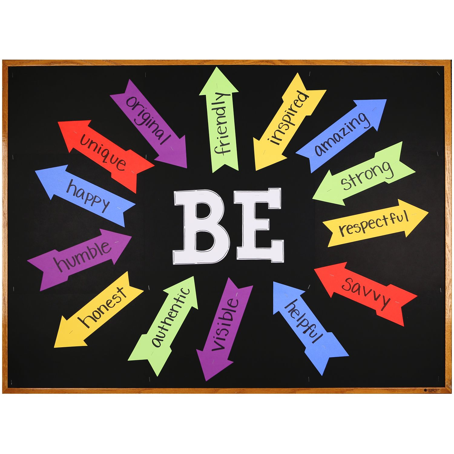 Arrow Or Classroom Design Definition ~ Motivational bulletin board using arrows and large letter