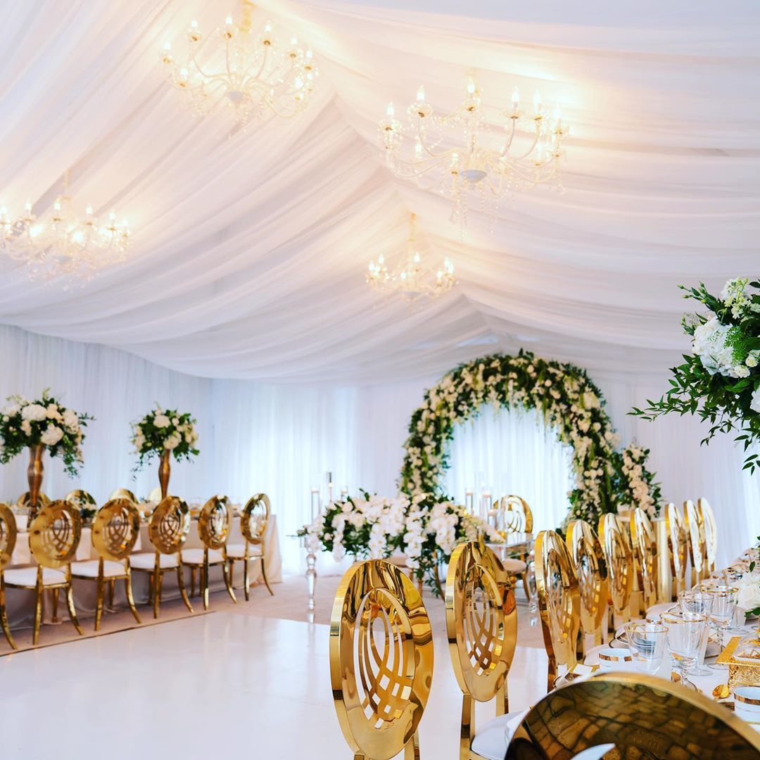 Iconic Decor Rental New York On Instagram Glam Tent Wedding When It Comes To All Of Your Custom Foundation Needs Such Tent Wedding Wedding Things To Come