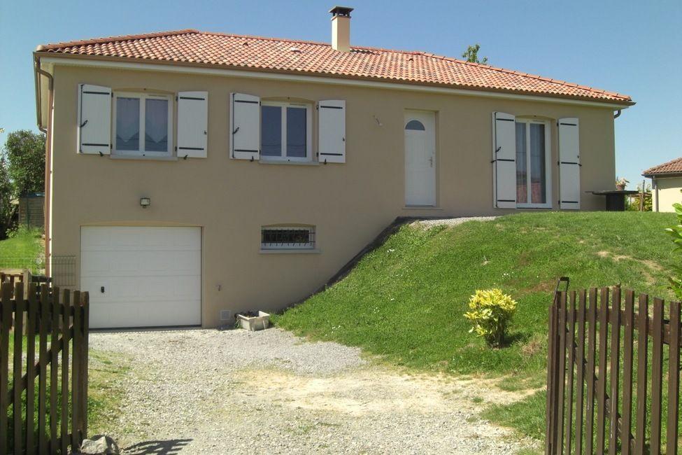 Une belle construction couzeix 87 r alis e par maison for Constructeur maison 86