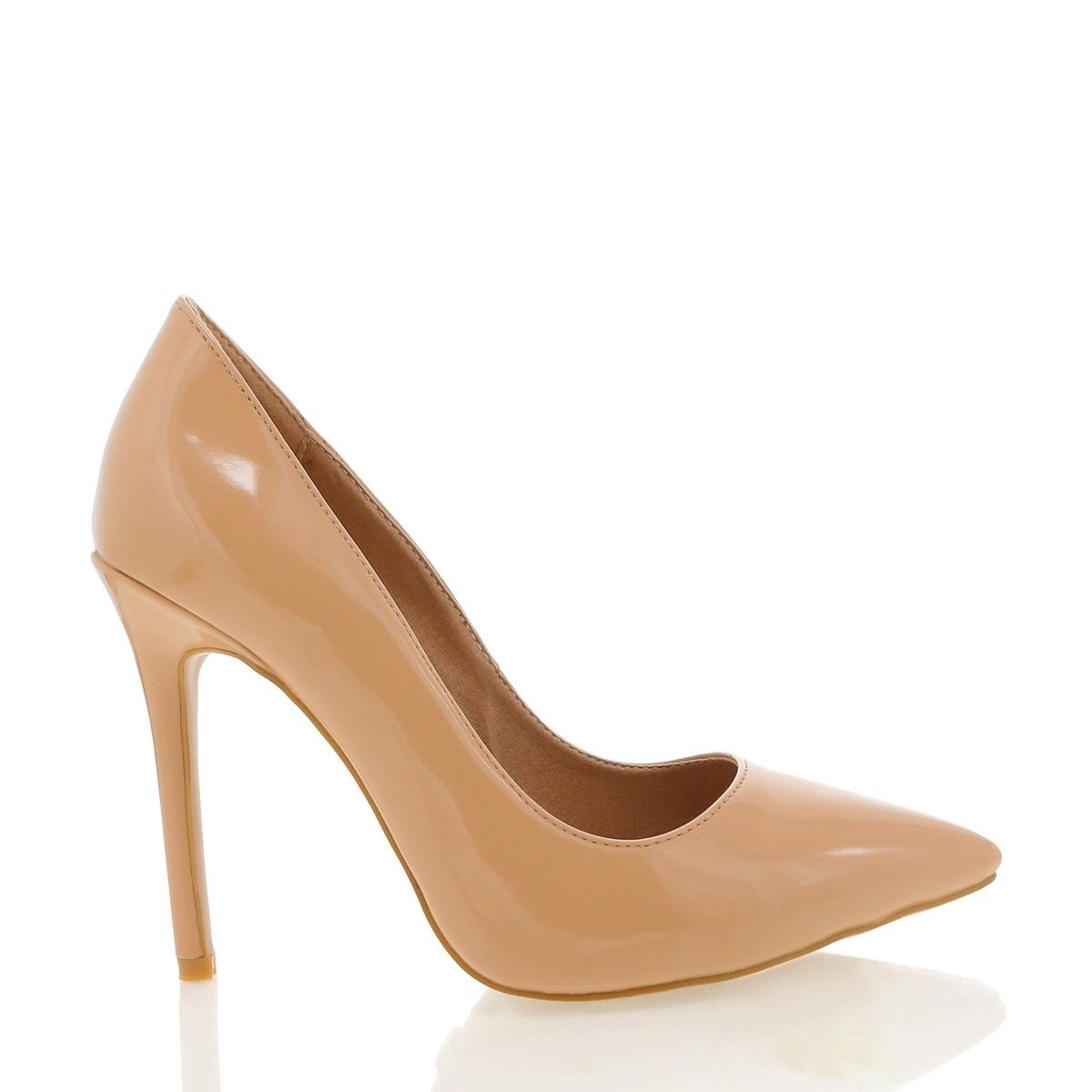 ec64cd71a34 Indra nude patent in 2019 | SHOP NEW ARRIVALS | Heels, Stiletto ...