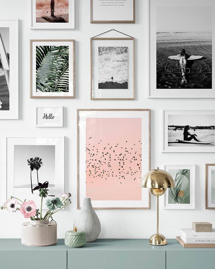 Desenio Posters Online Desenio Instagram Fotos Und Videos Hallway Wall Art Gallery Wall Hallway Pictures