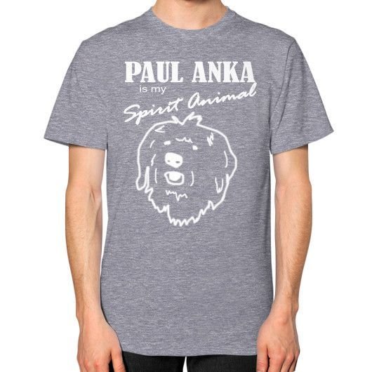 Paul Anka - Unisex T-Shirt (on man)