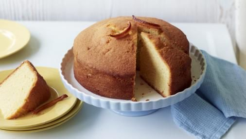 Bbc food recipes lemon madeira cake with candied peel mary food forumfinder Choice Image