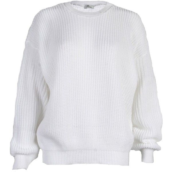 My1stwish Womens Oversized Ladies Knitted Baggy Chunky Jumper Sweater...  (5 eb0eff5ad