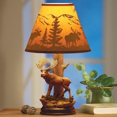 Woodland majestic moose table lamp decor ideas pinterest woodland majestic moose table lamp aloadofball Gallery