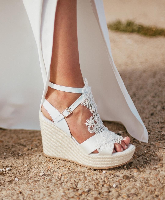 "Wedding Shoes FLIP FLOPS  /"" ALISE /"""