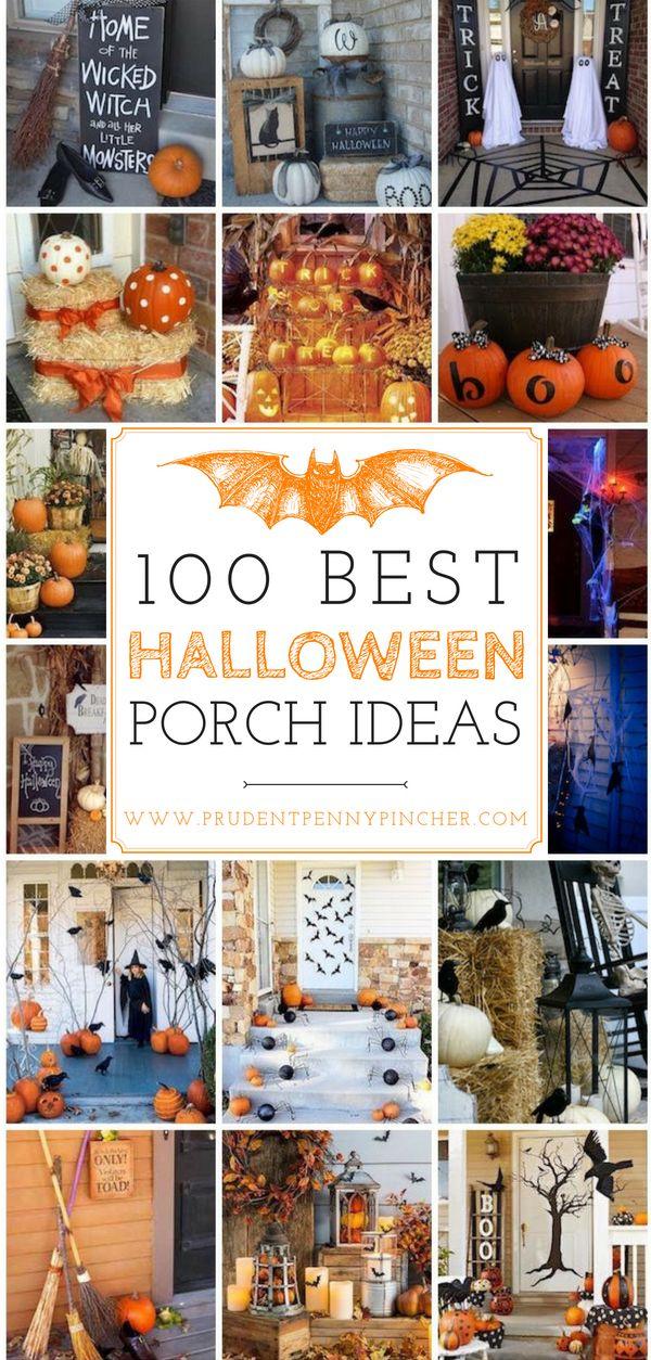 100 Best Halloween Porch Decor Ideas Halloween Decor Pinterest