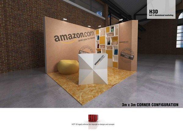 Expo Stands Cape Town : Amazon web dev cape town x board exhibit by liam beattie via