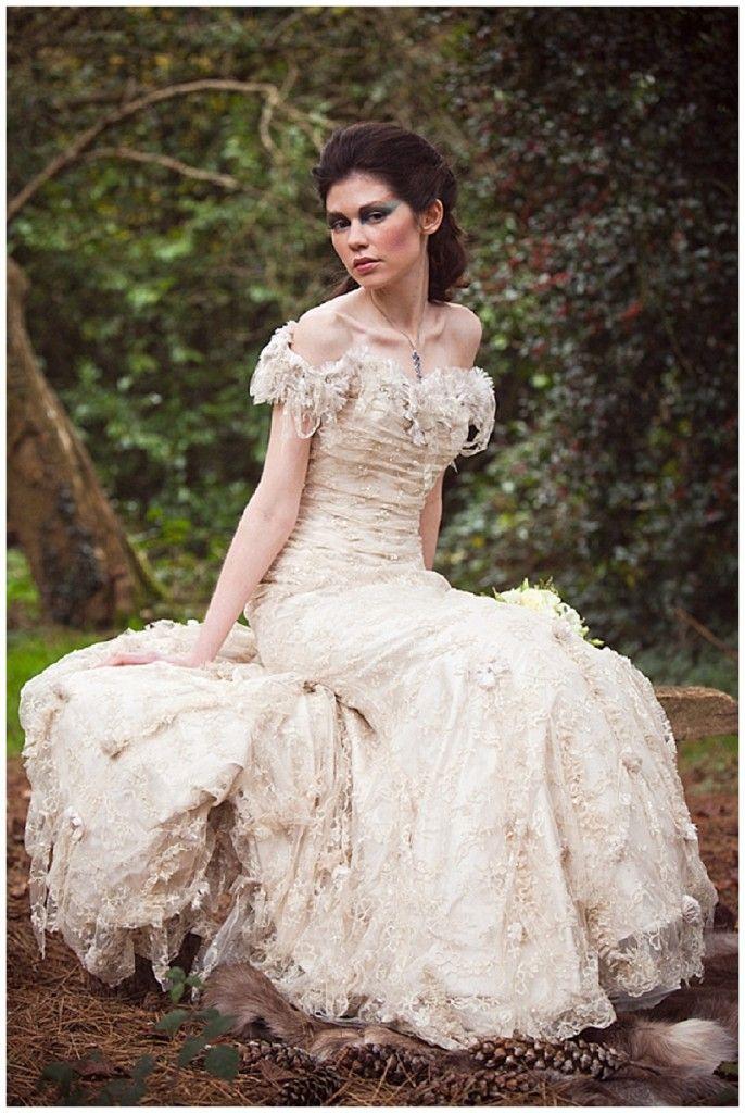 Whimsical Woodland Styled Wedding Inspiration Steampunk