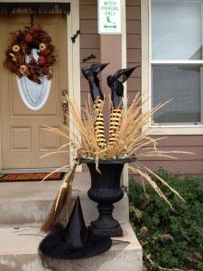 Halloween Urn Decorations Enchanting Witches Urn  Halloween Decorations  Pinterest  Urn Witches And Design Inspiration